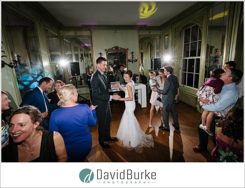 bride and groom dancing hotel du vin tunbridge wells