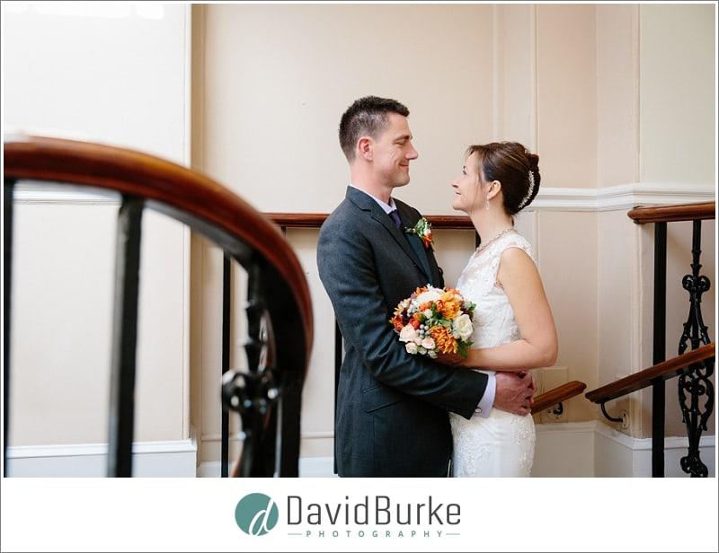 bride and groom portrait hotel du vin