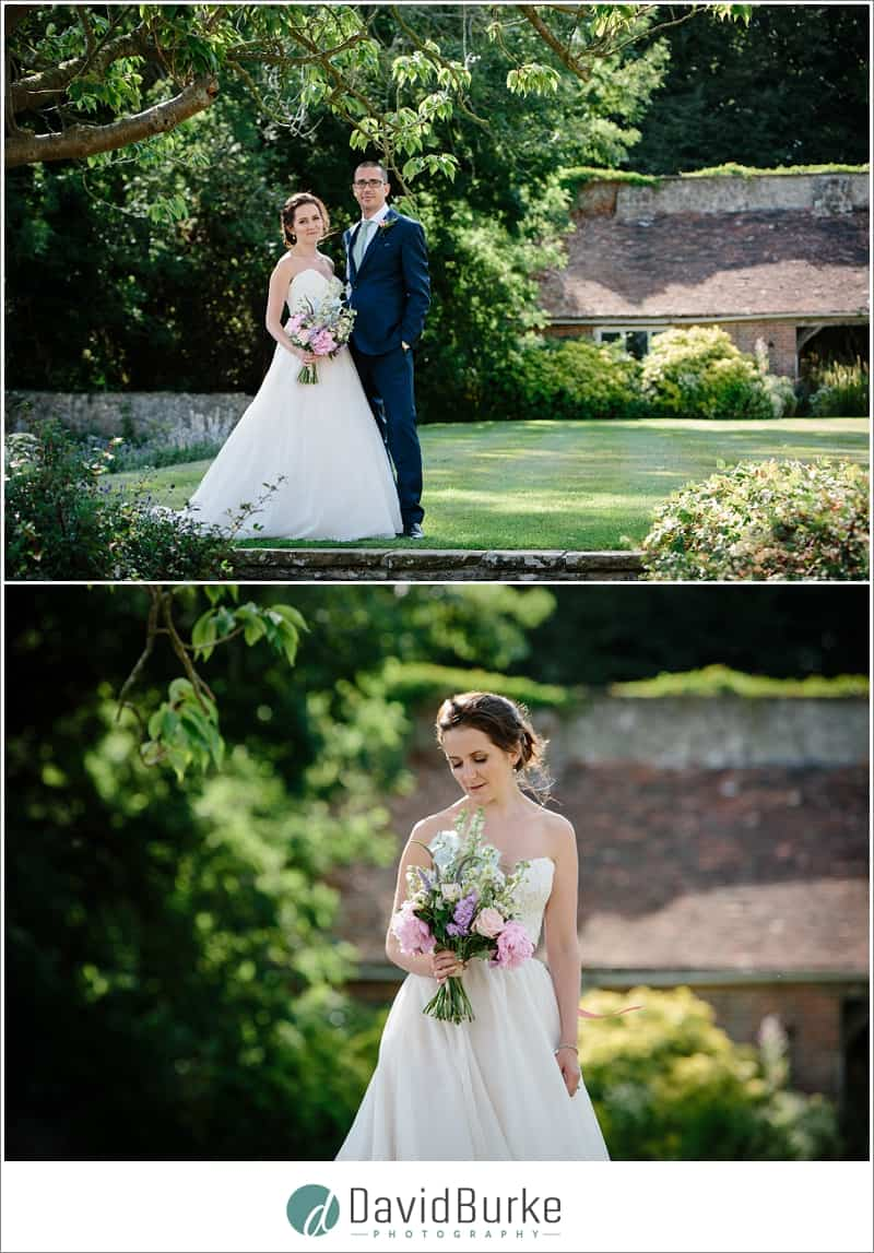 bride and groom portraits lympne castle