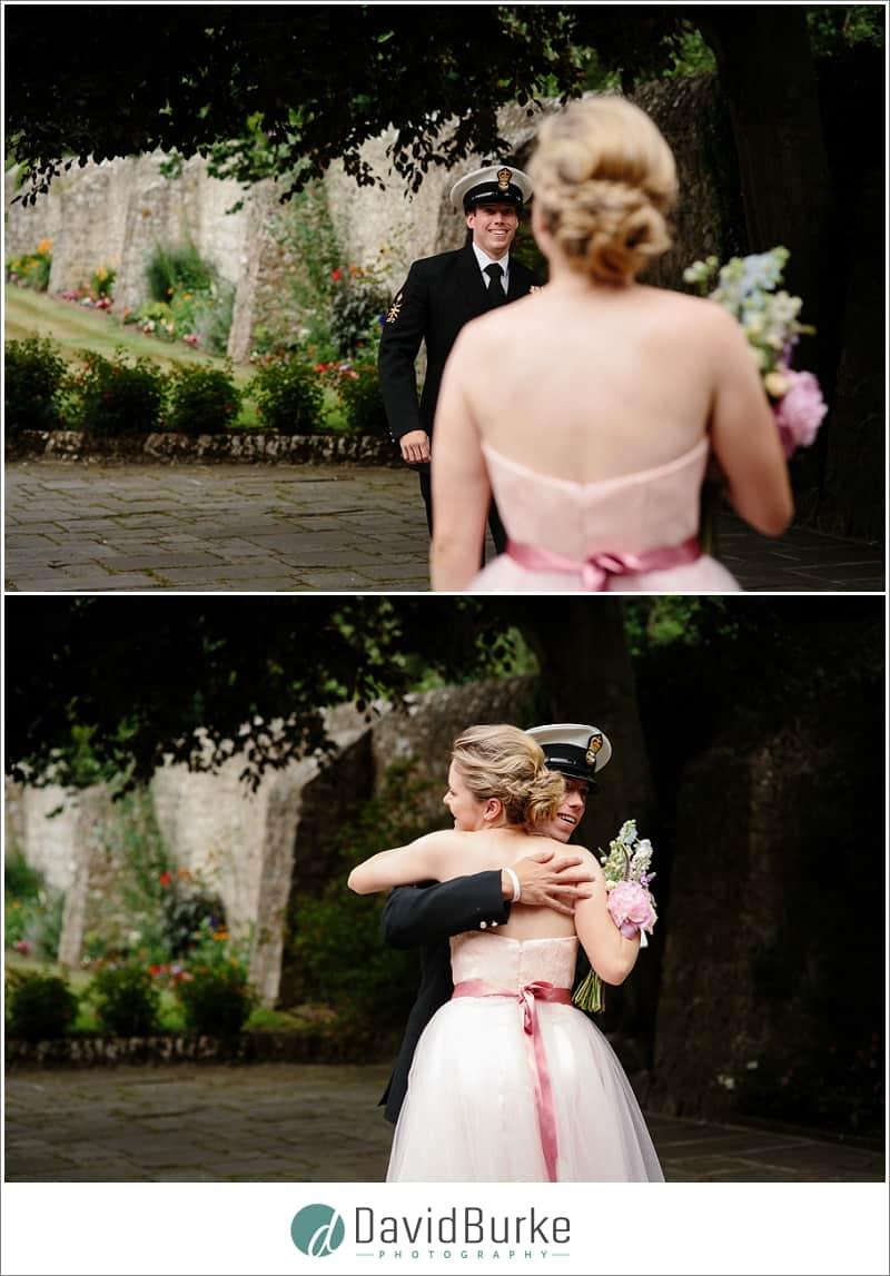 bridesmaids naval boyfriend turns up