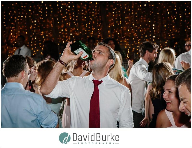 jagermeister drinking at wedding