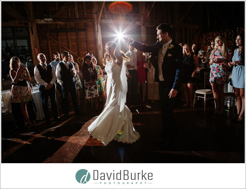 first dance at great barn rolvenden