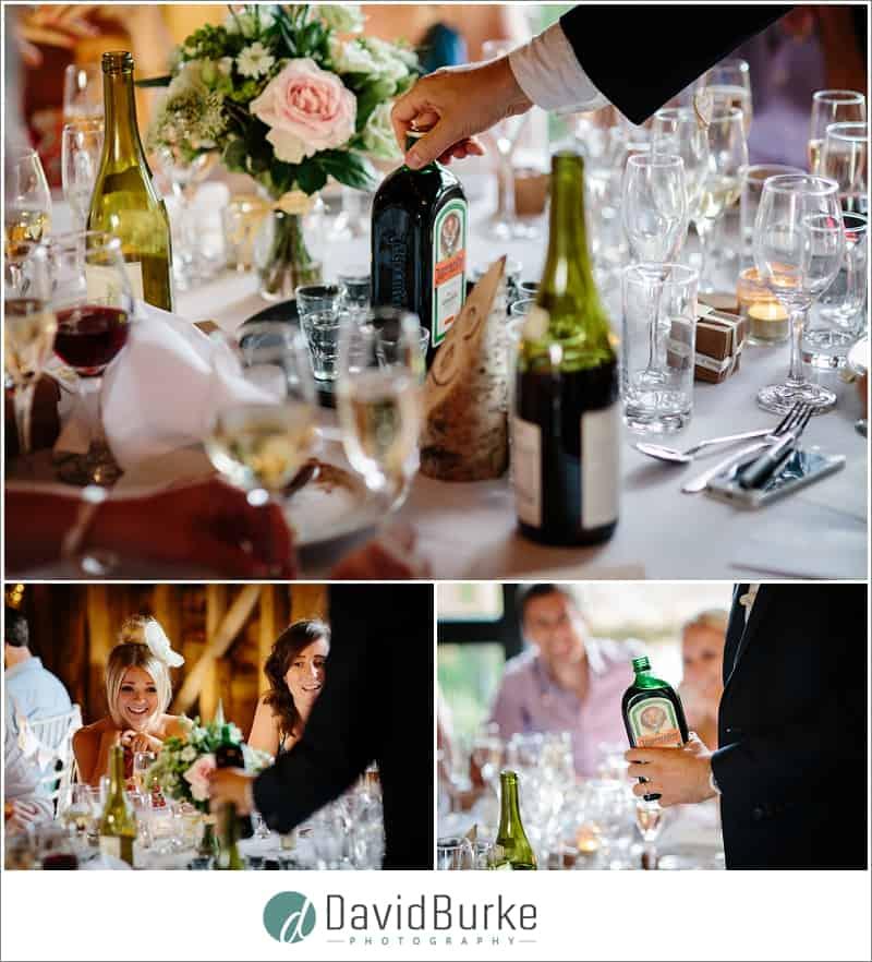 jagermeister at wedding