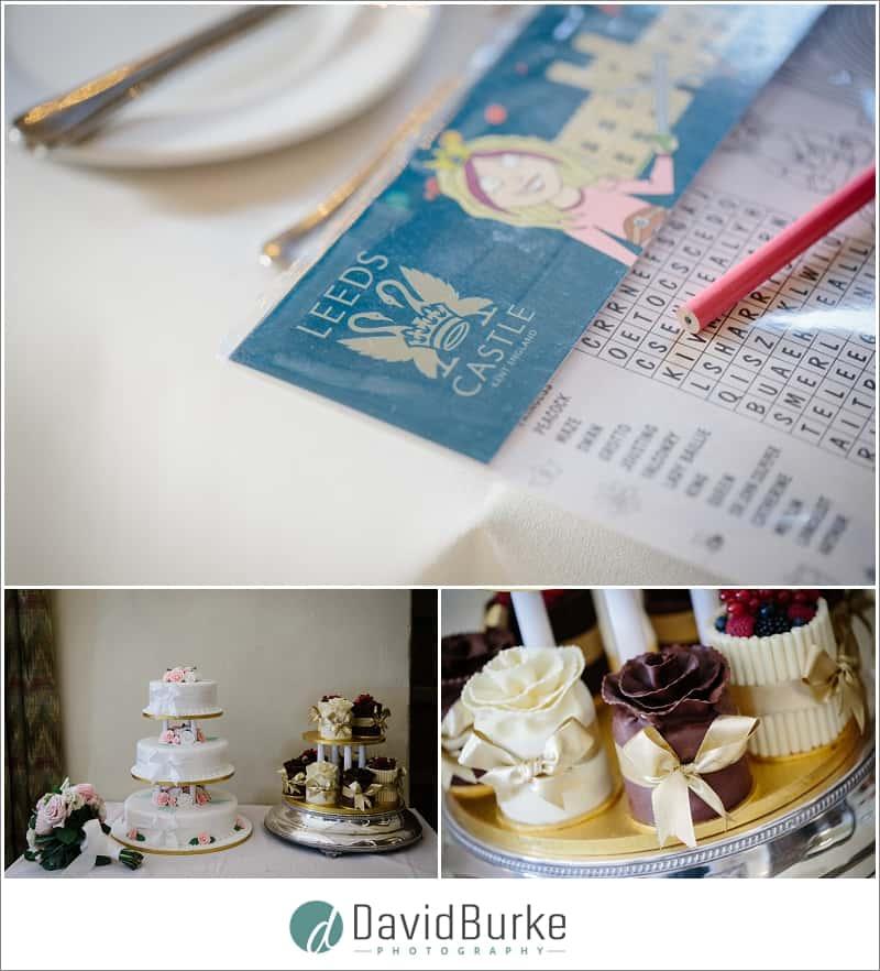wedding breakfast details leeds castle