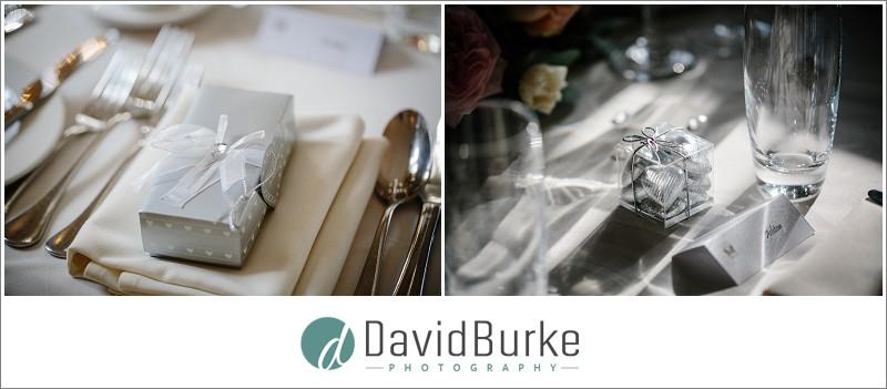 wedding breakfast details maidens tower