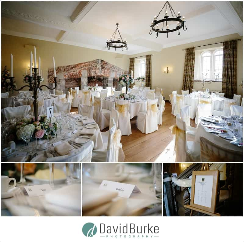 maidens tower wedding breakfast