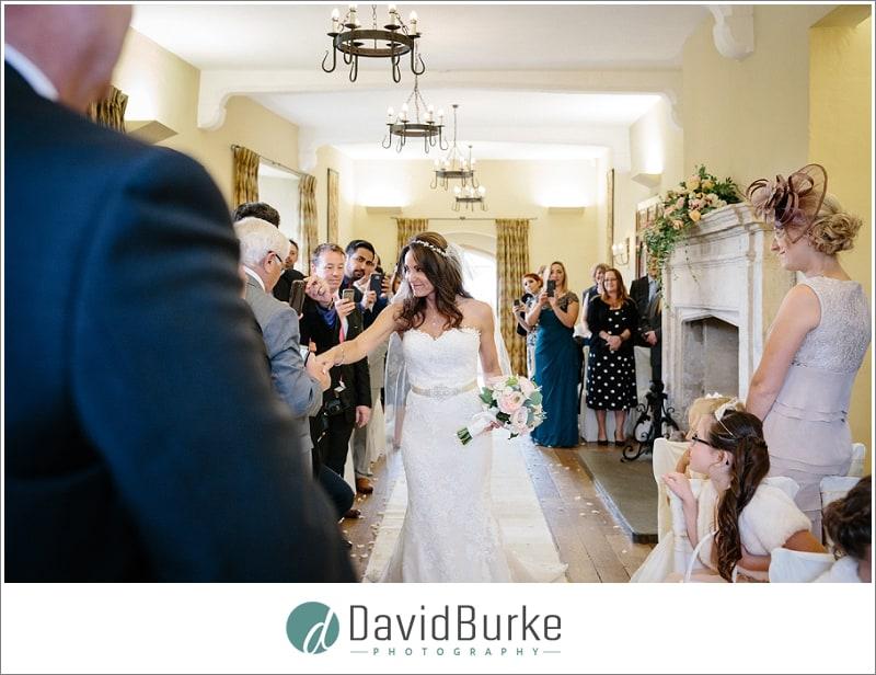 bride greeting uncle