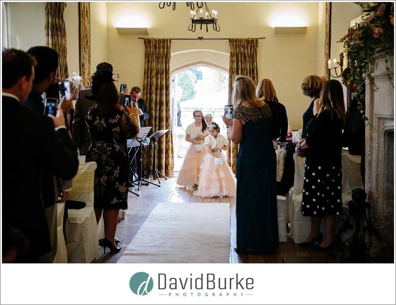 bridesmaids entrance maidens tower kent