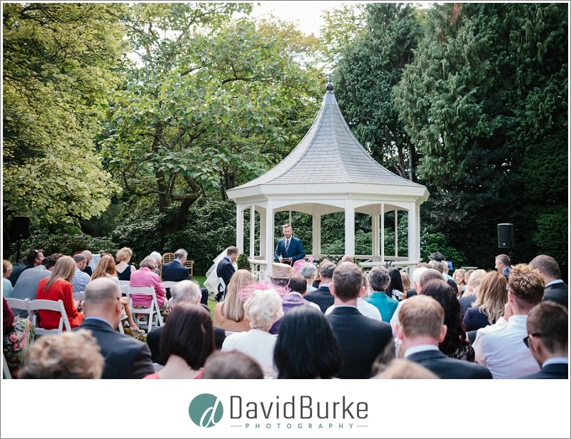 blessing at the orangery