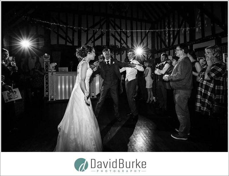 groom interrupting dad daughter dance