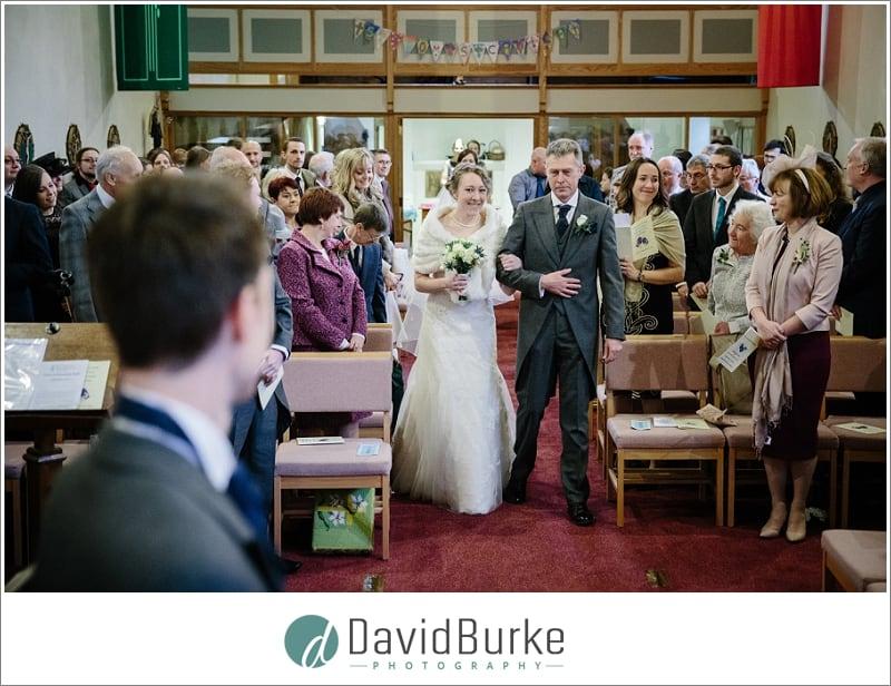 bridal entrance st thomas groombridge