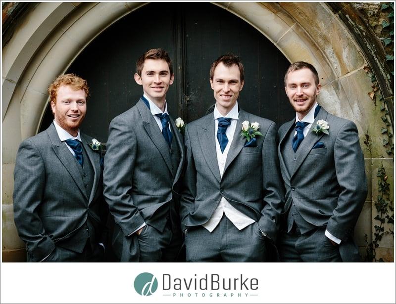 groomsmen at groombridge wedding