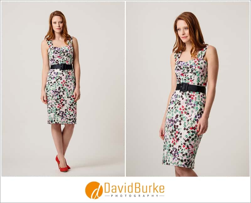 stewart parvin print cotton sundress