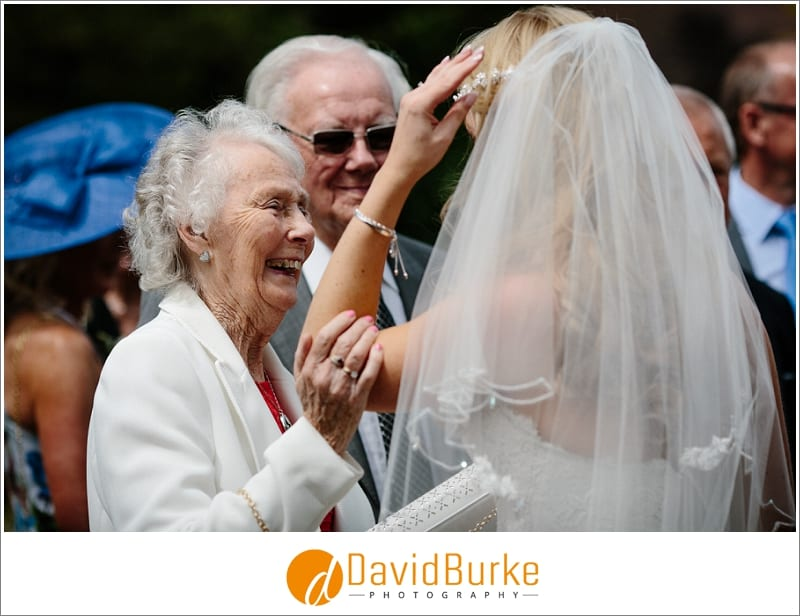 bride with her gran