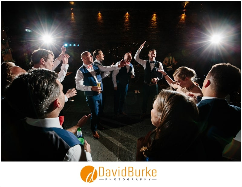 lads dancing