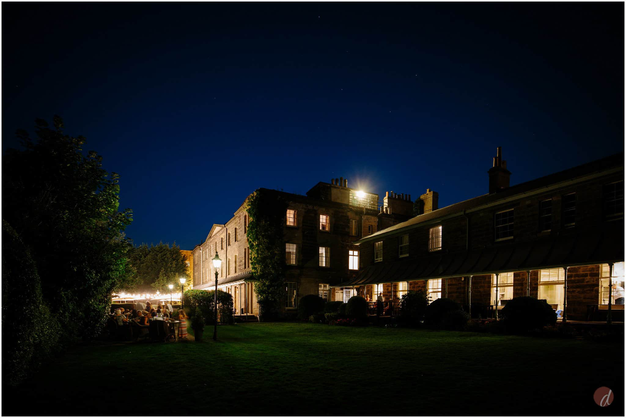hotel du vin tunbridge wells at night