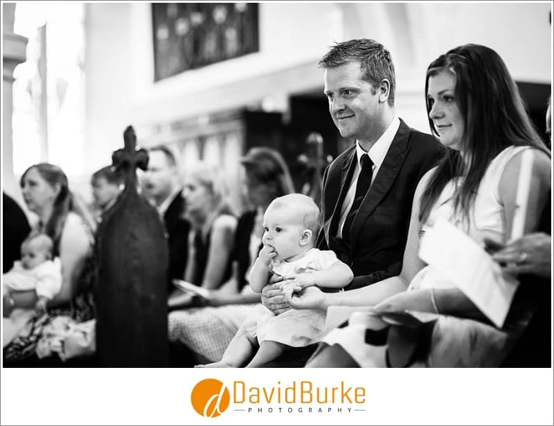 happy family at surrey christening