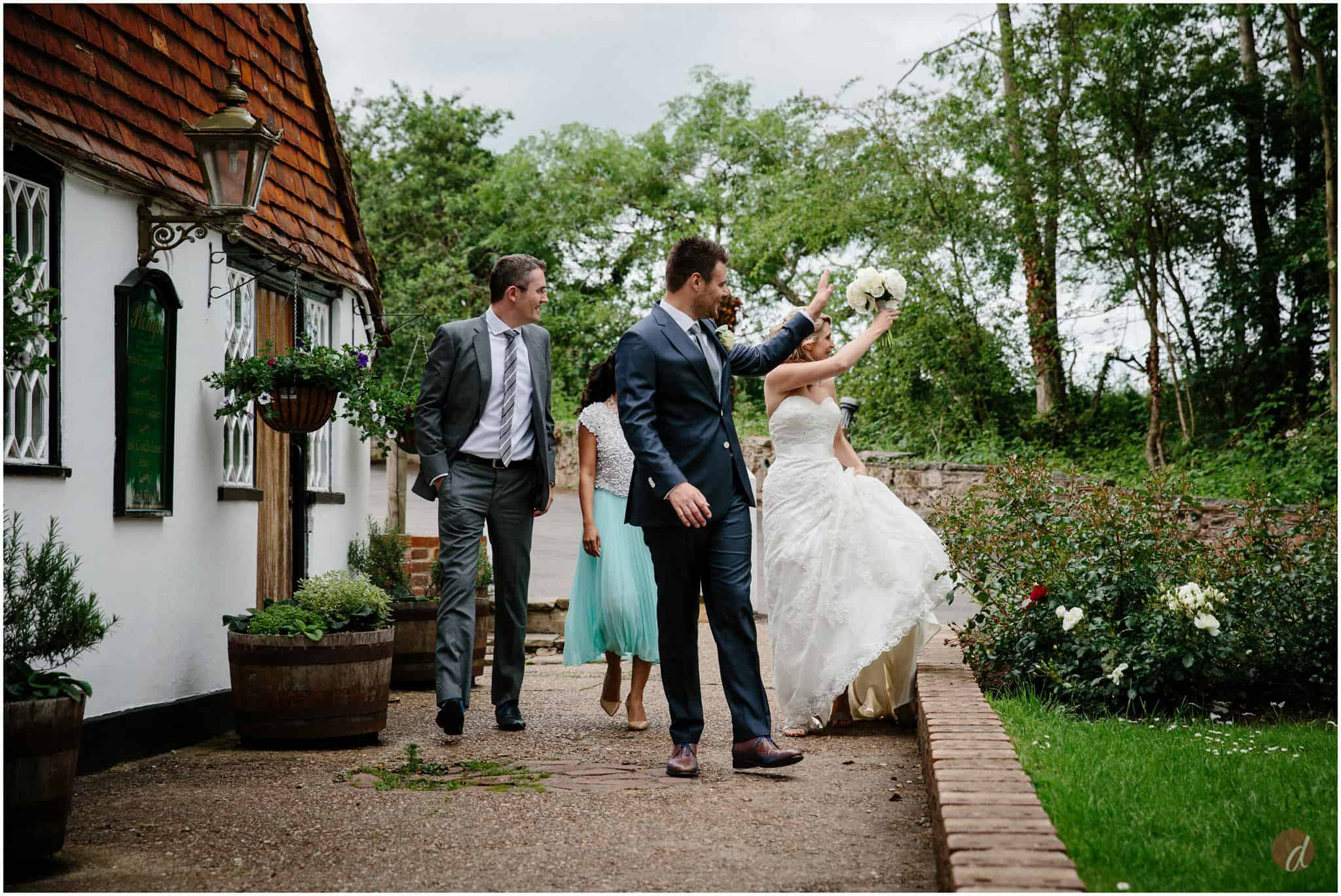 plough leigh wedding photography