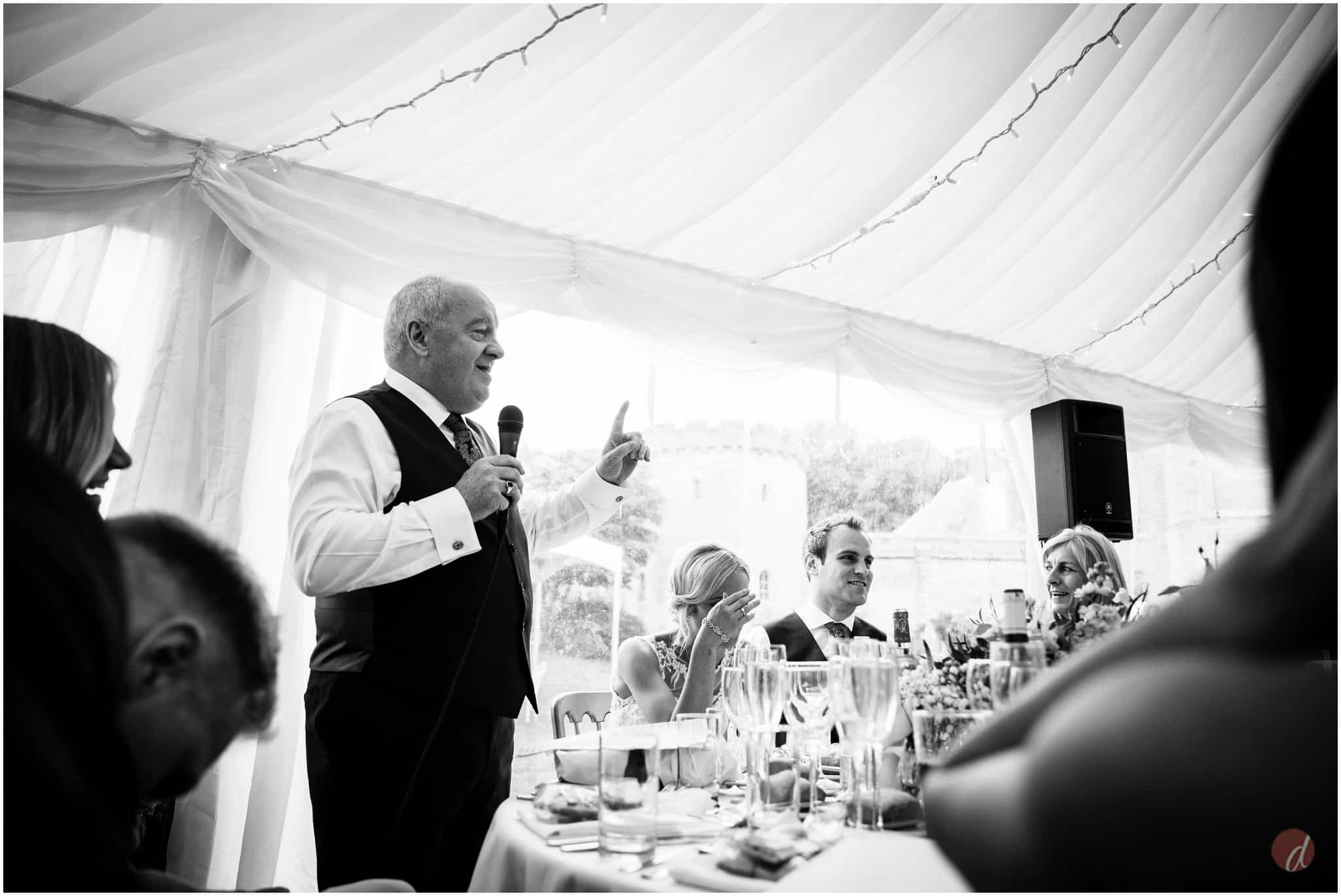 chiddingstone castle wedding speeches