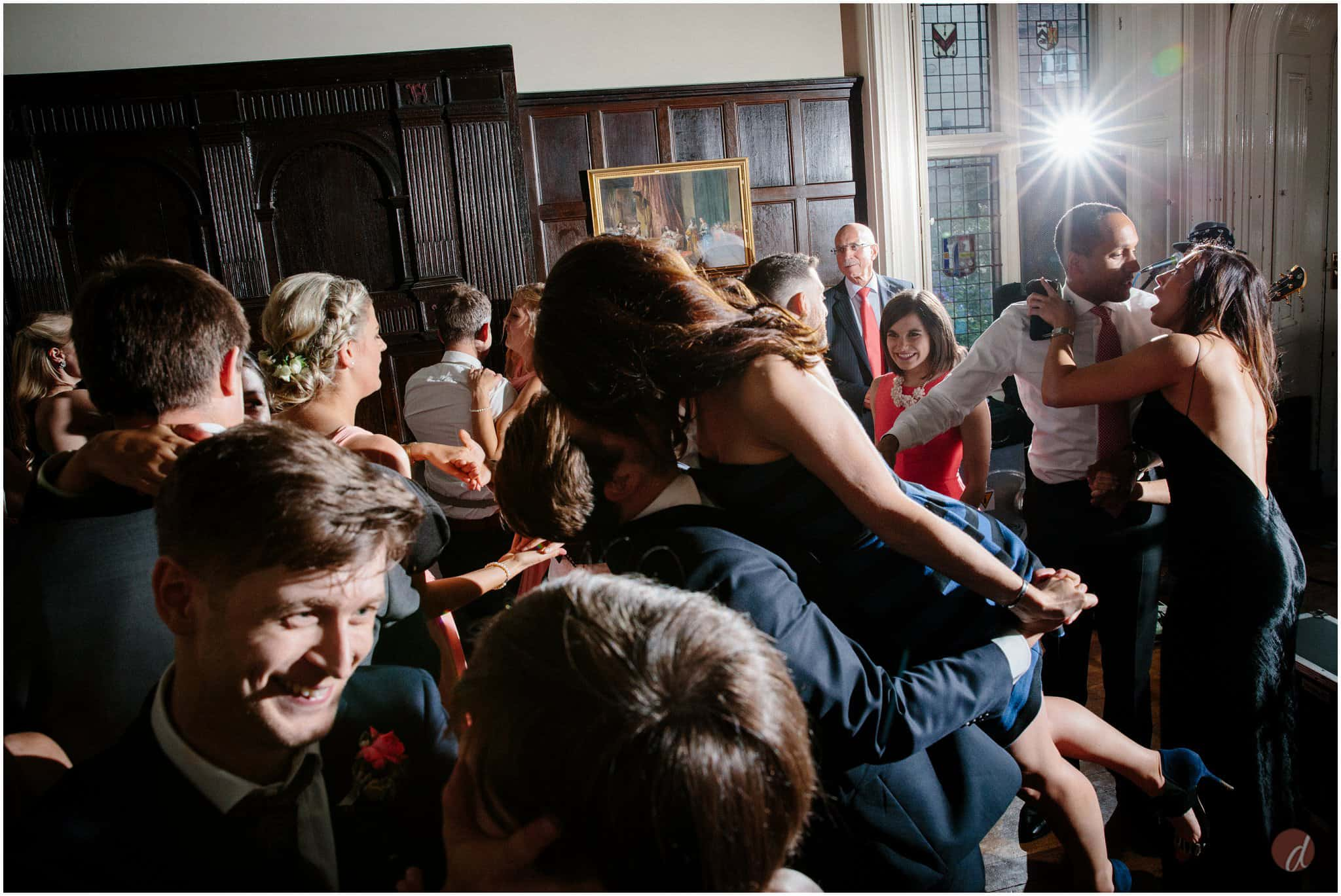 chiddingstone castle wedding dancing