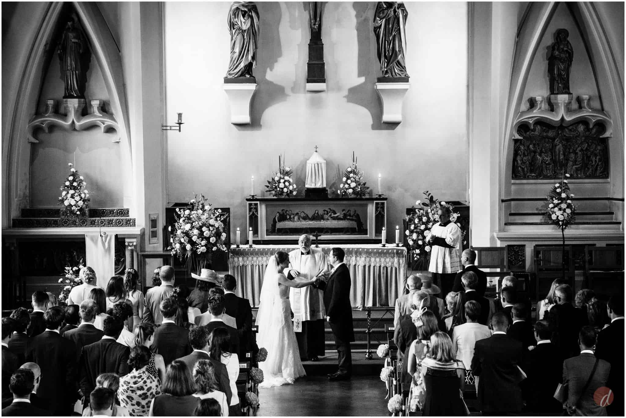 Our Lady Help of Christians wedding photography
