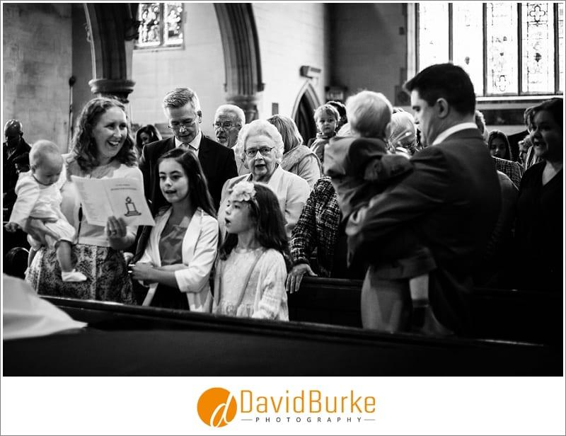 granny at christening