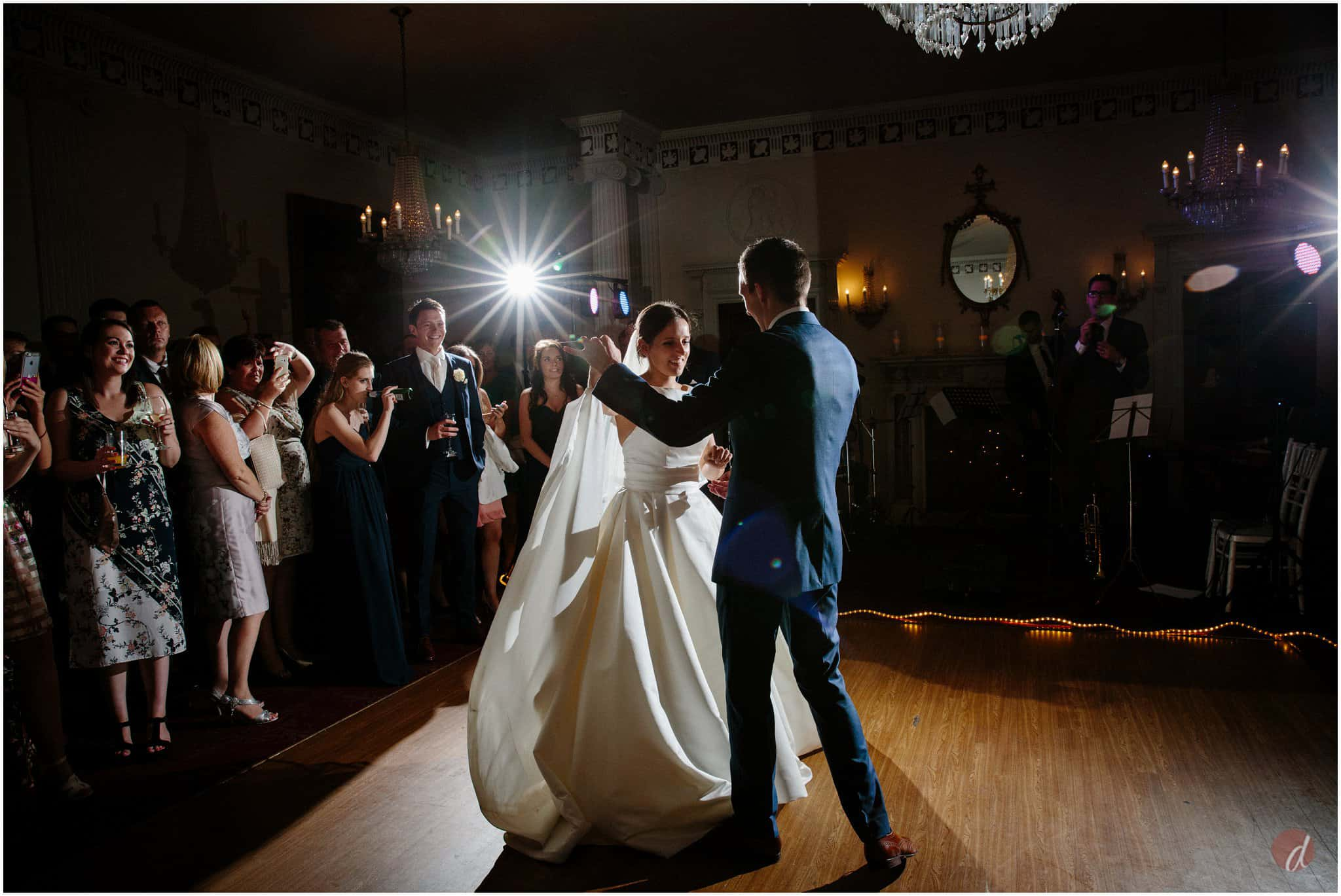 dancing at buxted park wedding