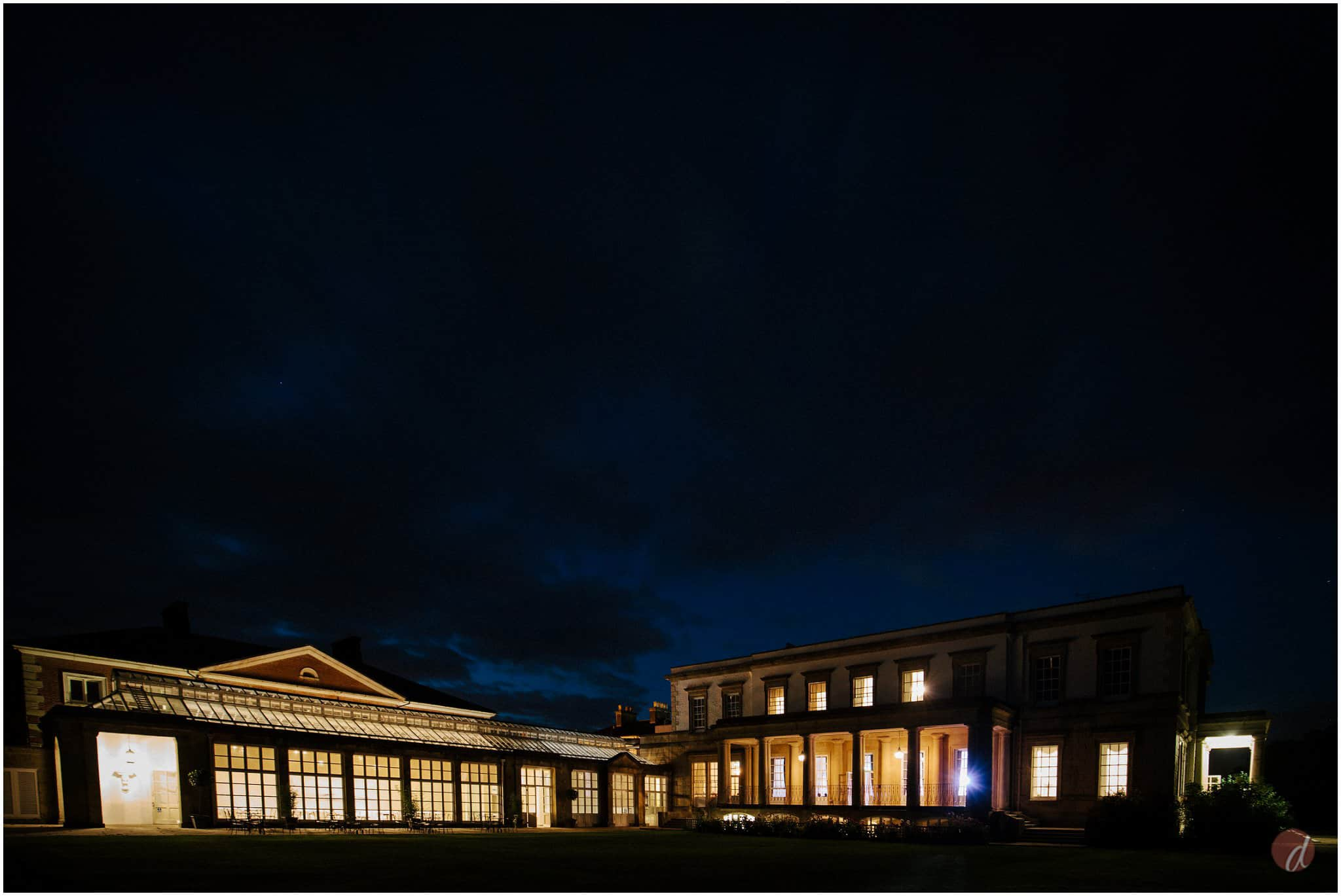 buxted park at night