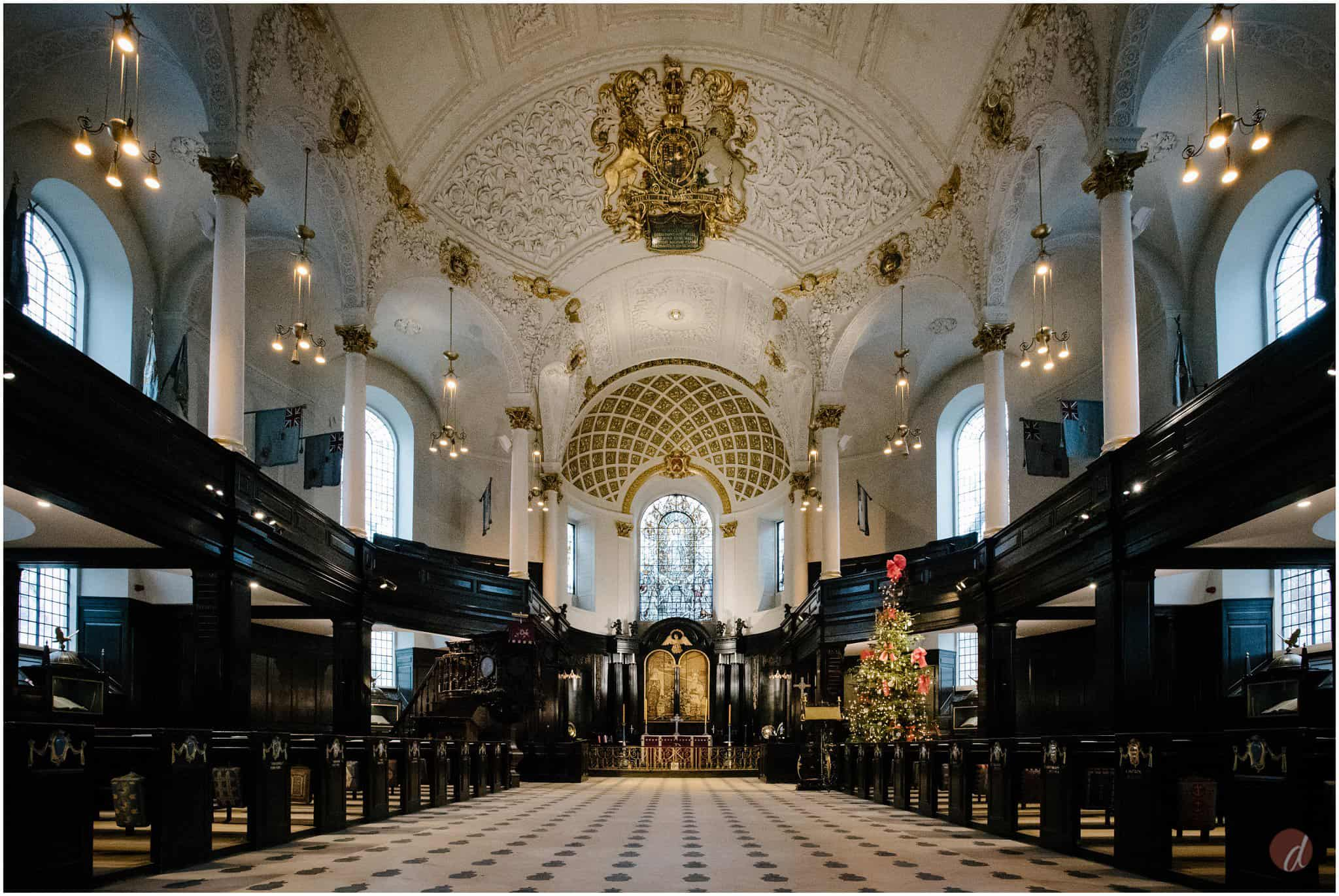 st clement danes wedding