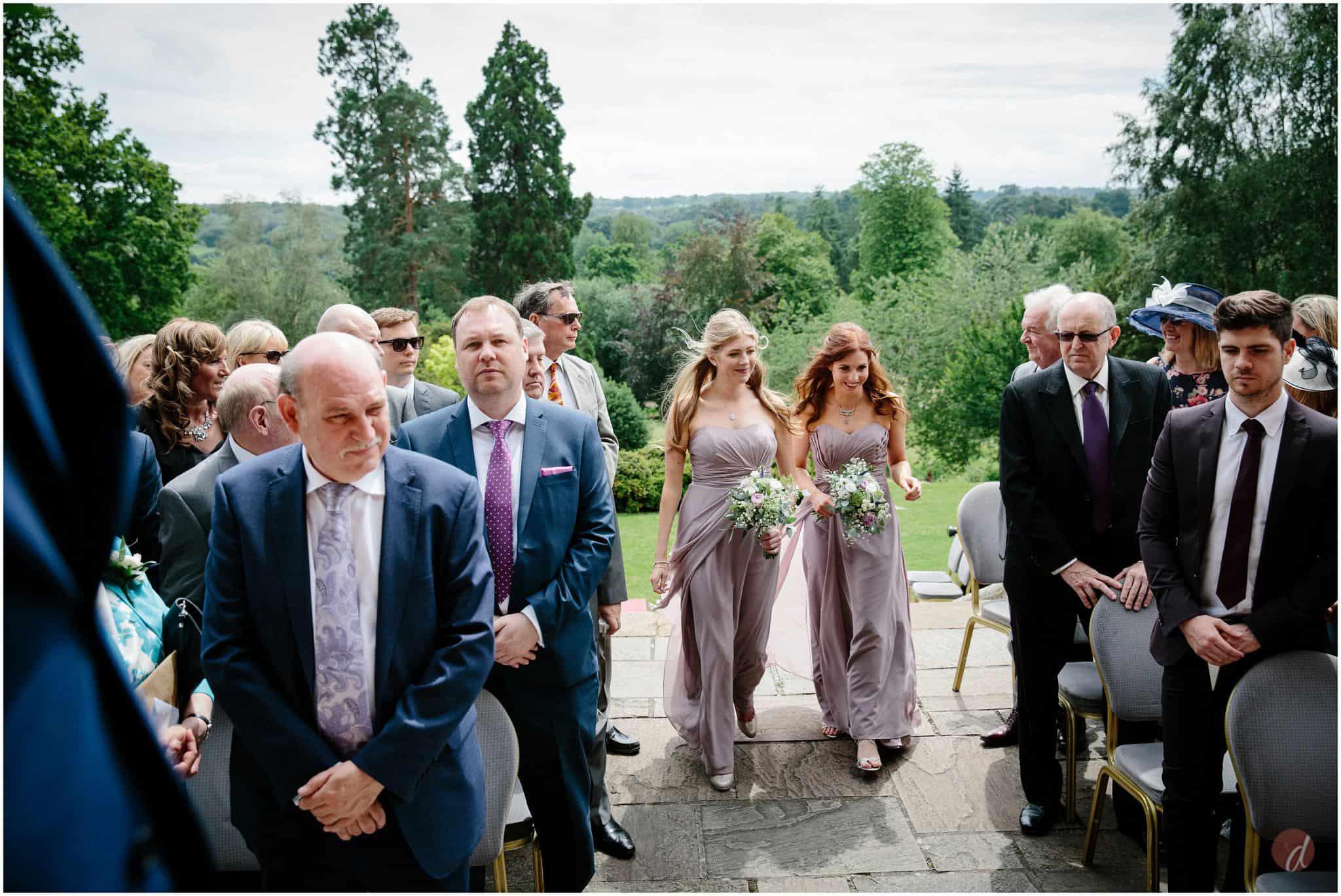 bridesmaids entrance salomons