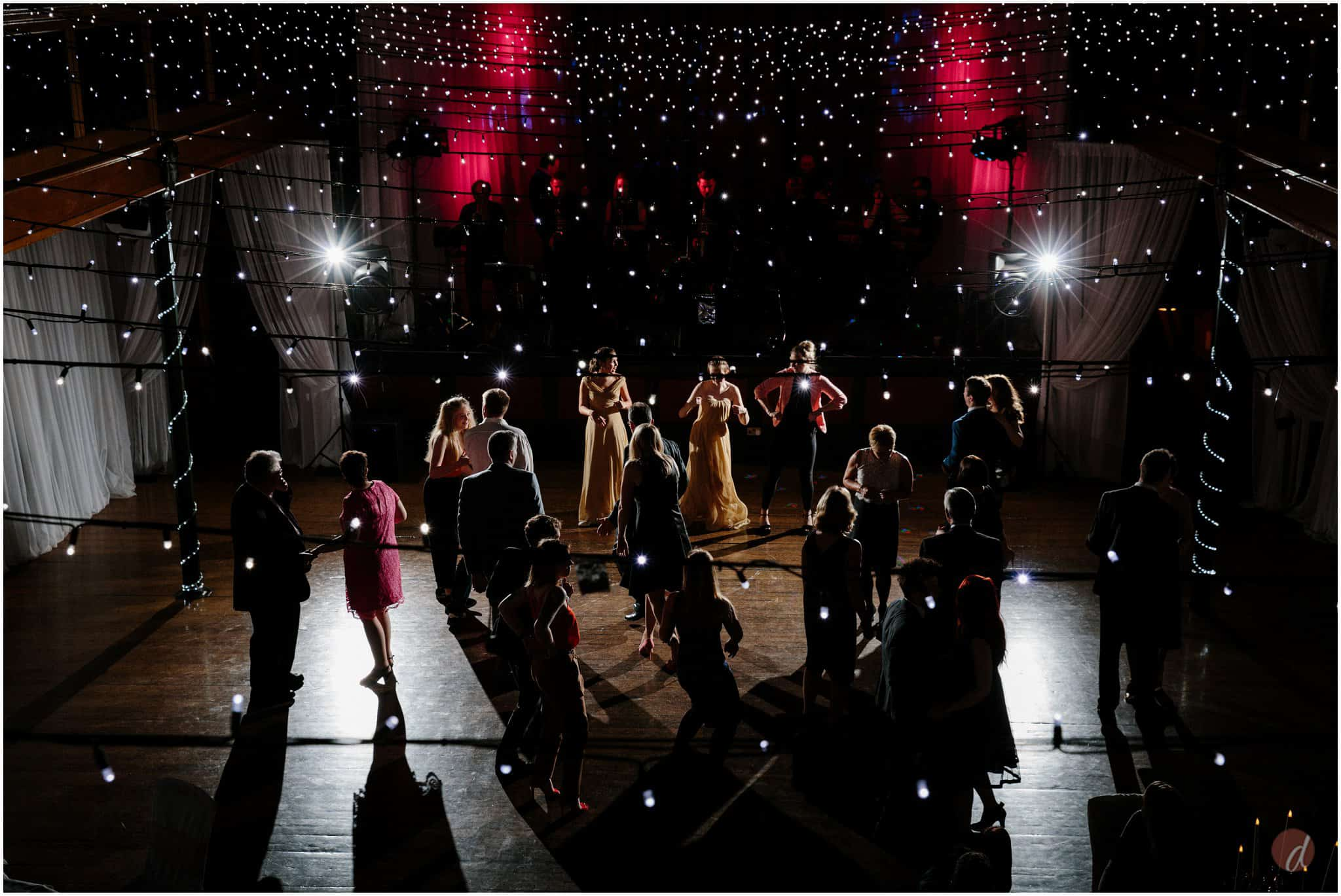 wedding salomons theatre dancing