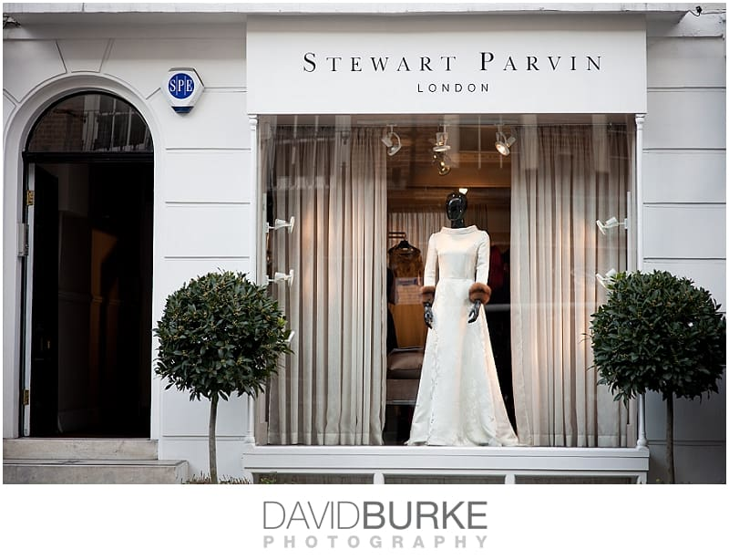 Stewart Parvin Bridal Boutique | commercial photography