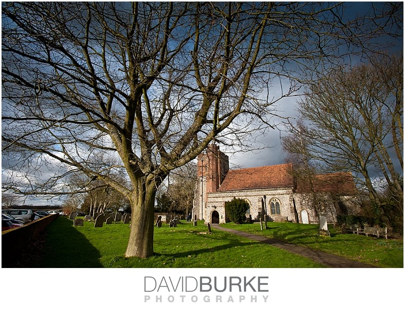 St Peter & St Paul's Church Ash | Kent wedding venues
