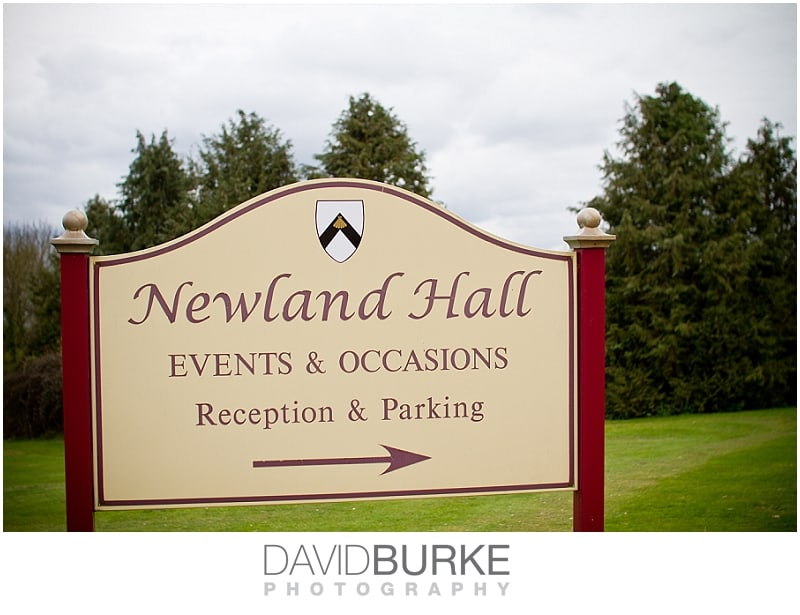 Newland Hall weddings | Essex wedding venues