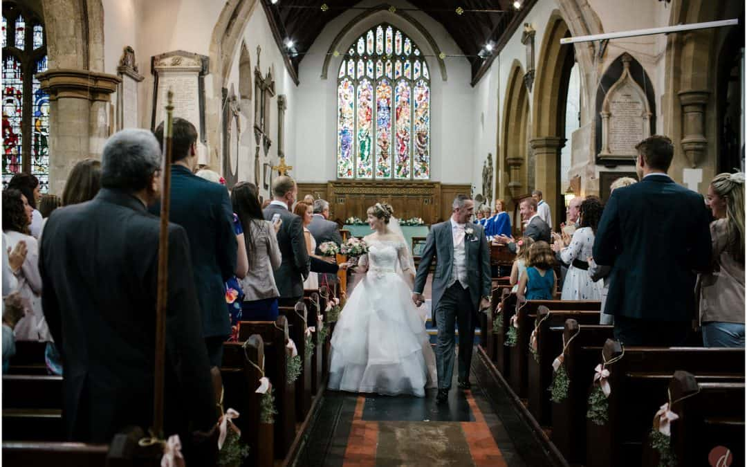 Lauren & Paul's wedding | St Peter & St Paul Tonbridge