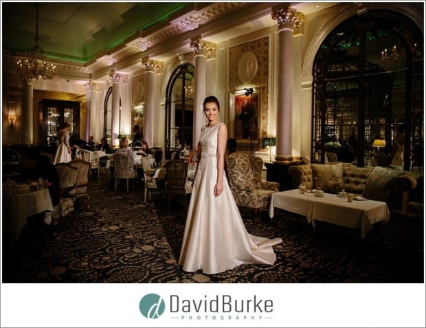 Stewart Parvin Brides show at The Savoy, London