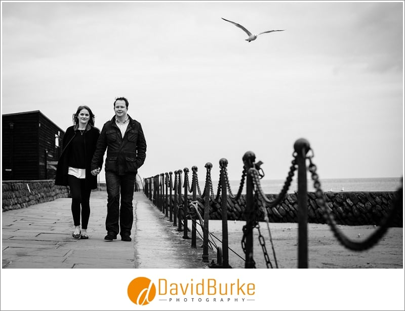 Ellie & James | Folkestone pre-wedding shoot