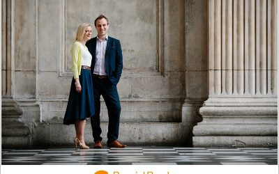 Julia & Andrew   London engagement shoot