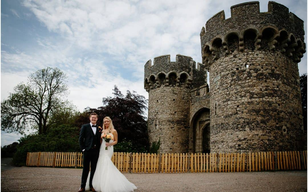 cooling castle weddings