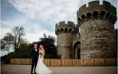 Mia & Dan's Cooling Castle Wedding pt 1
