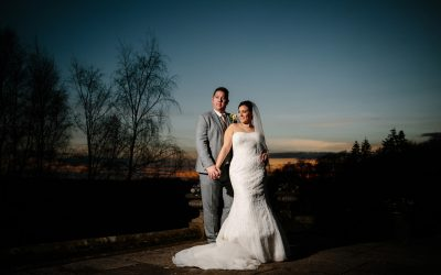 Polly & Scott's wedding photography at Salomons Estate