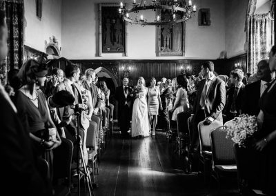 lympne castle wedding ceremony