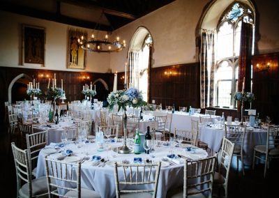 lympne caslte wedding breakfast