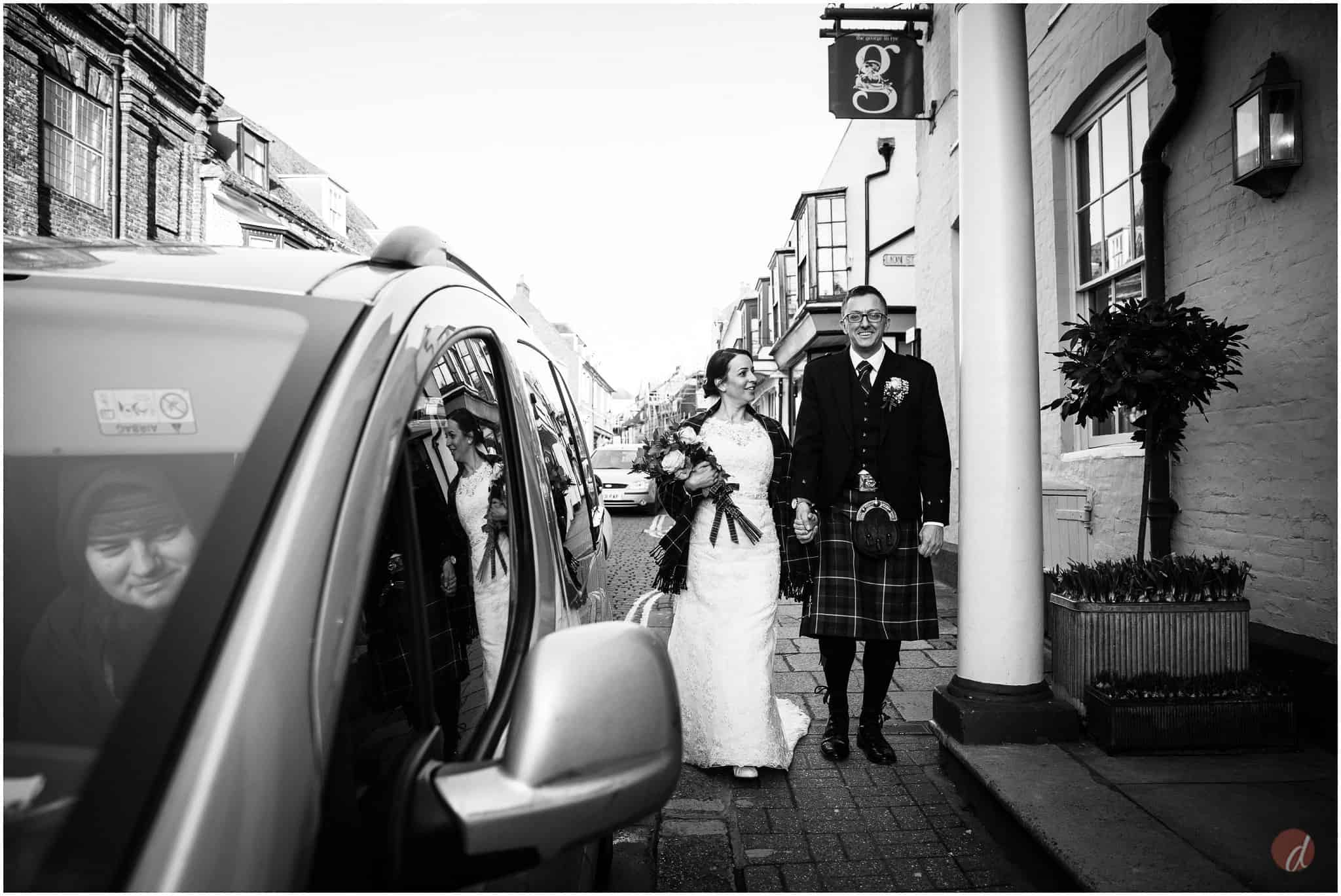 weddings at the george in rye