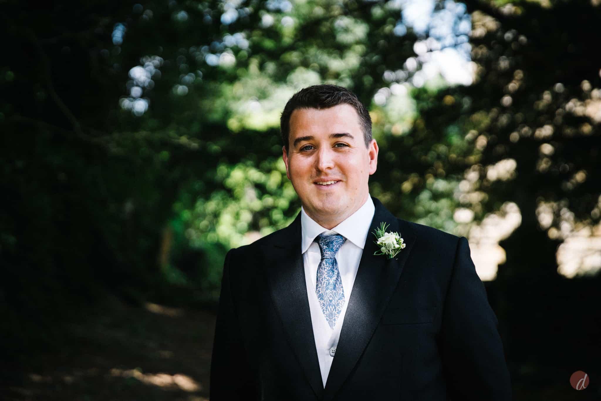 groom at st marys church lamberhurst