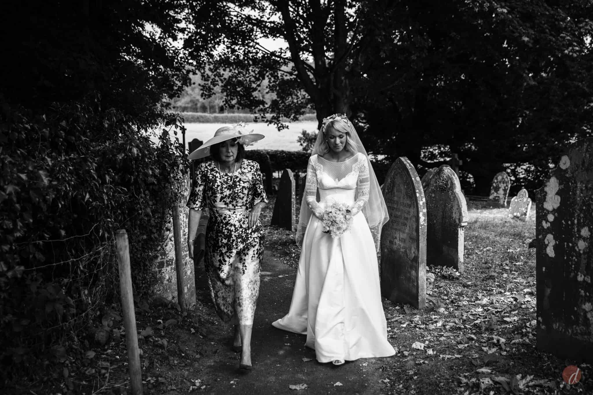 bride and mother st marys church lamberhurst