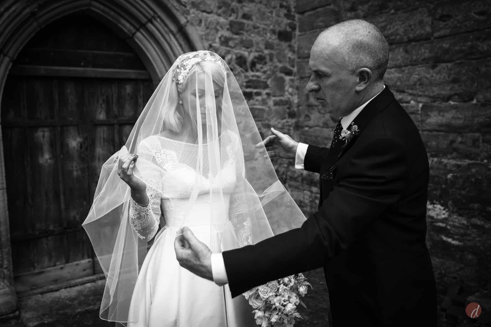 bride at st marys church lamberhurst