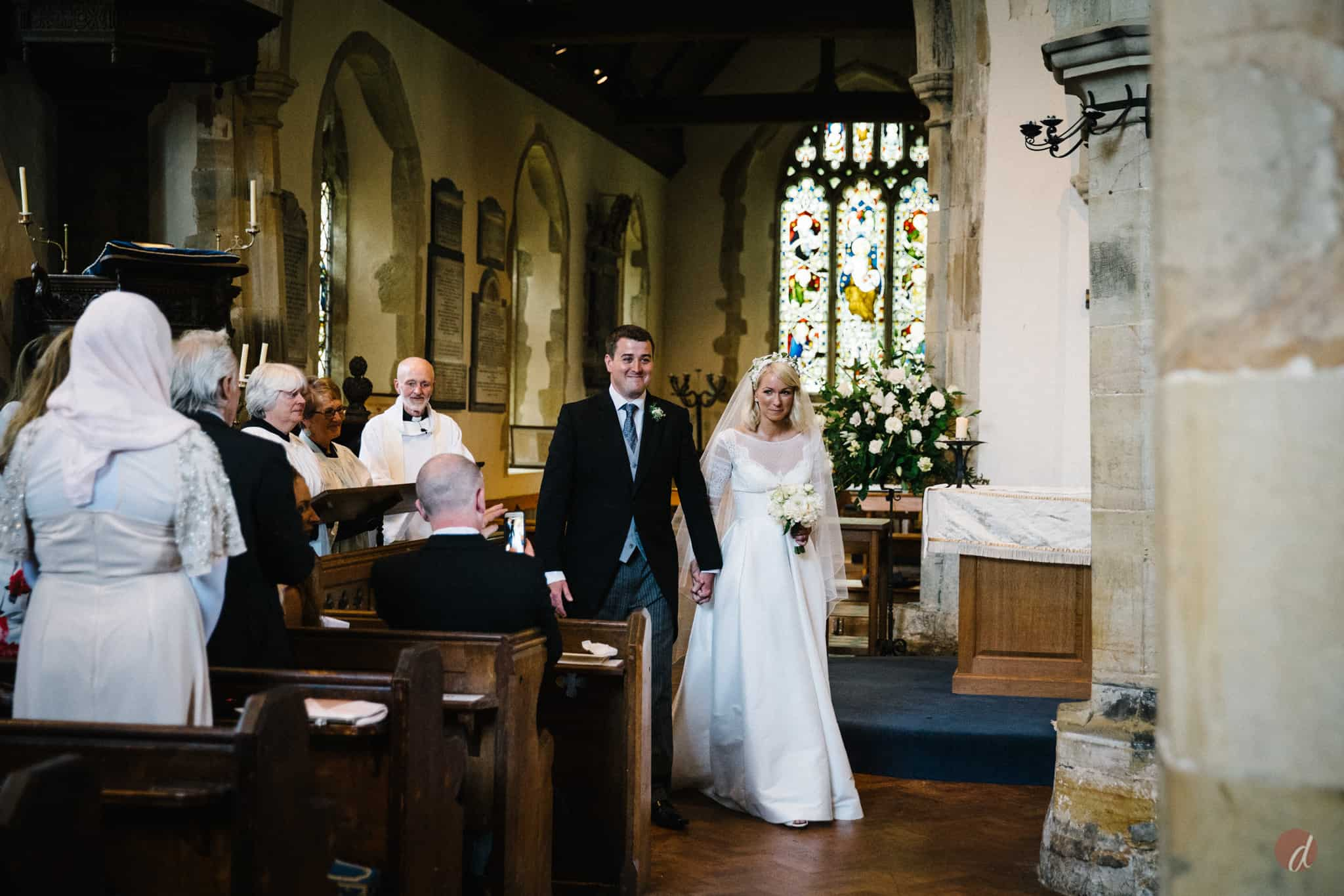wedding at st marys church lamberhurst