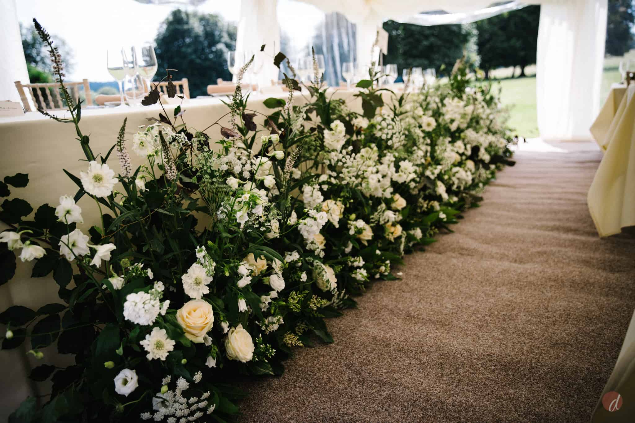 darling and wild wedding flowers