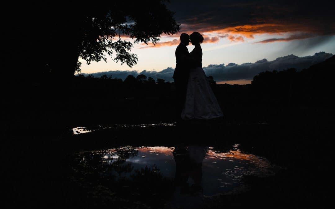 wedding at forty hall farm